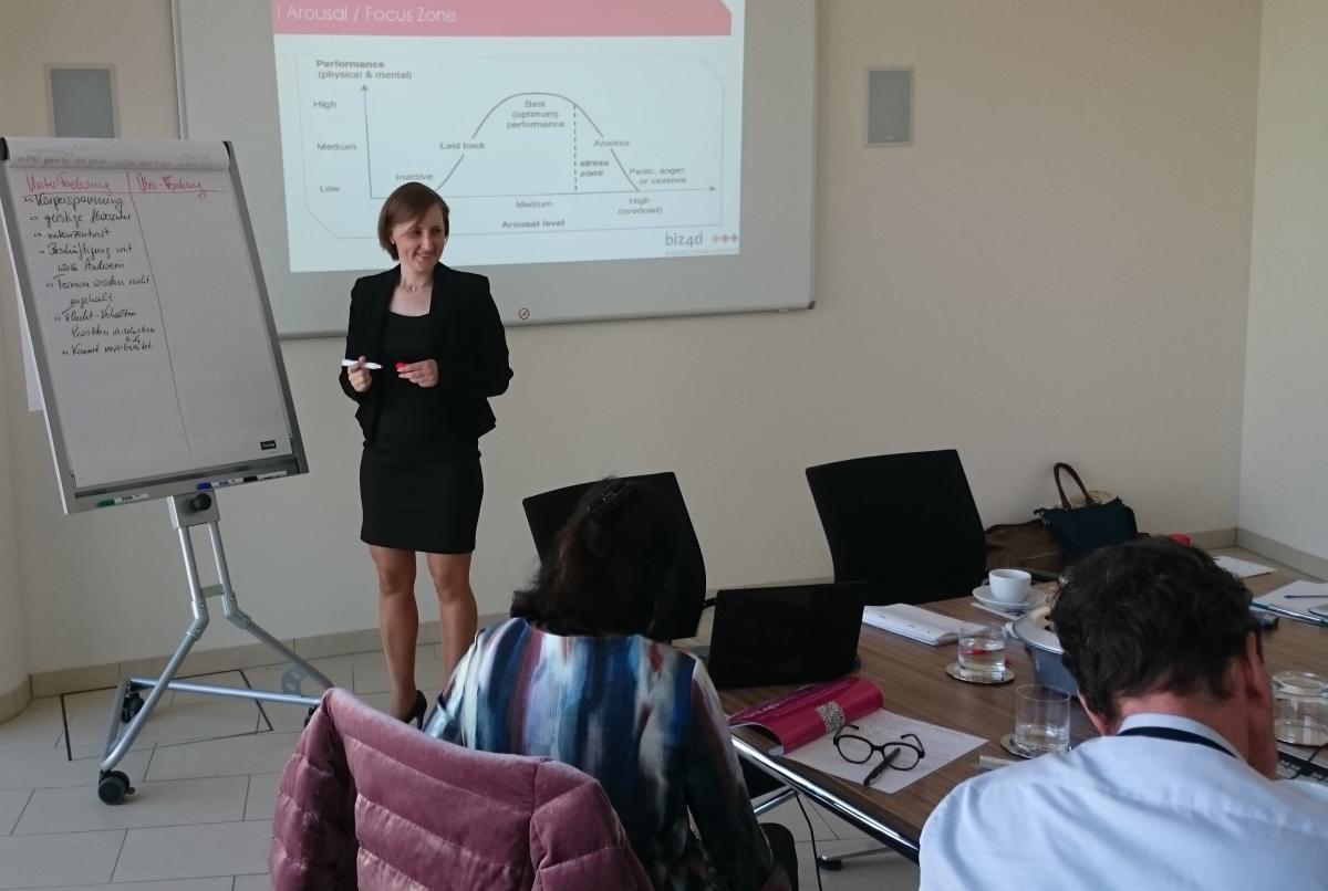 Mentorenschulung in Frankfurt